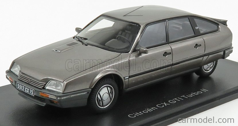NEO SCALE MODELS NEO45512 Scale 1/43  CITROEN CX 25 GTI TURBO 2 1986 GREY MET