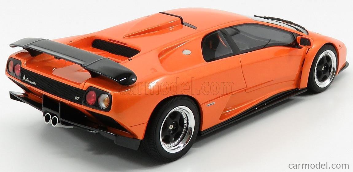 KYOSHO KSR18507OR Scale 1/18  LAMBORGHINI DIABLO GT 1999 ORANGE MET