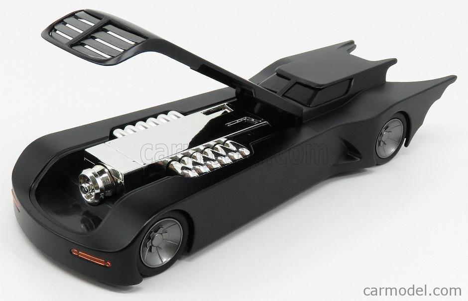 JADA 30916 Масштаб 1/24  BATMAN BATMOBILE THE ANIMATED SERIES WITH BATMAN FIGURE 1992 MATT BLACK