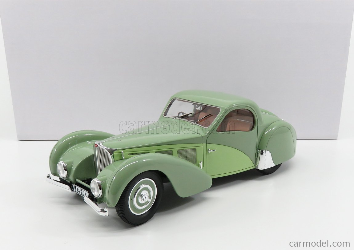 MATRIX SCALE MODELS MXL0205-031 Масштаб 1/18  BUGATTI T57C ATALANTE 1937 GREEN