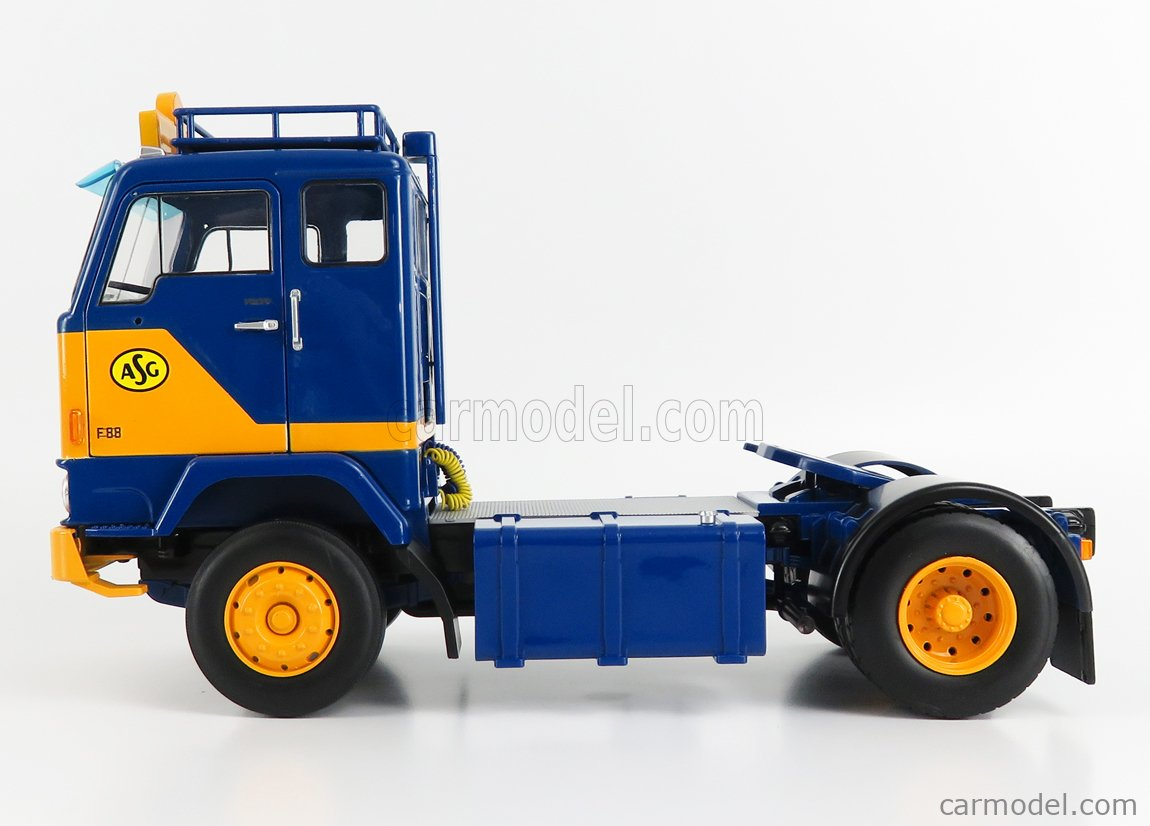 ROAD-KINGS RK180061 Scale 1/18  VOLVO F88 TRACTOR TRUCK ASG 2-ASSI 1965 BLUE YELLOW