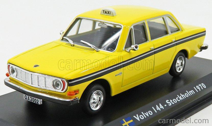 Volvo 144 Stockholm 1970 Taxi 1:43 Leo Models Modellauto metallauto