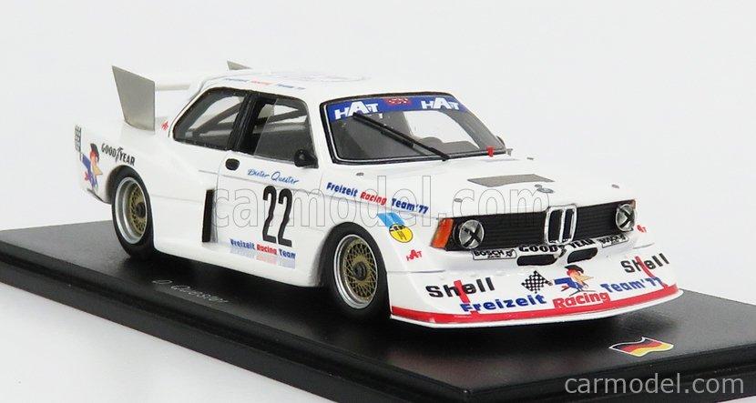 BMW 320 Gr.5 Dieter Quester DRM Norisring 1977 1:43 Spark Neu