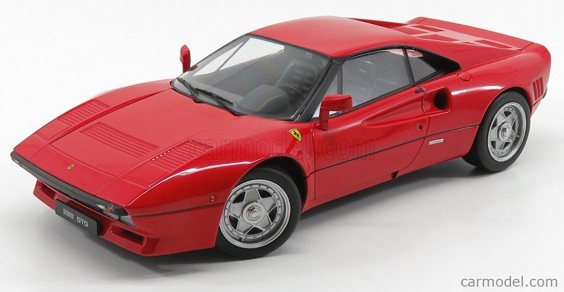Kk Scale Kkdc180411 Masstab 1 18 Ferrari 288 Gto 1984 Black Interior Red