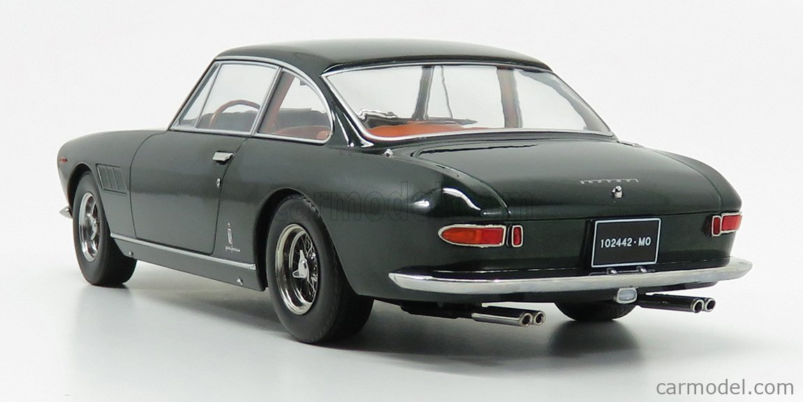 Kk Scale Kkdc180422 Masstab 1 18 Ferrari 330 Gt 2 2 1964 Personal Car Enzo Ferrari Dark Green Met