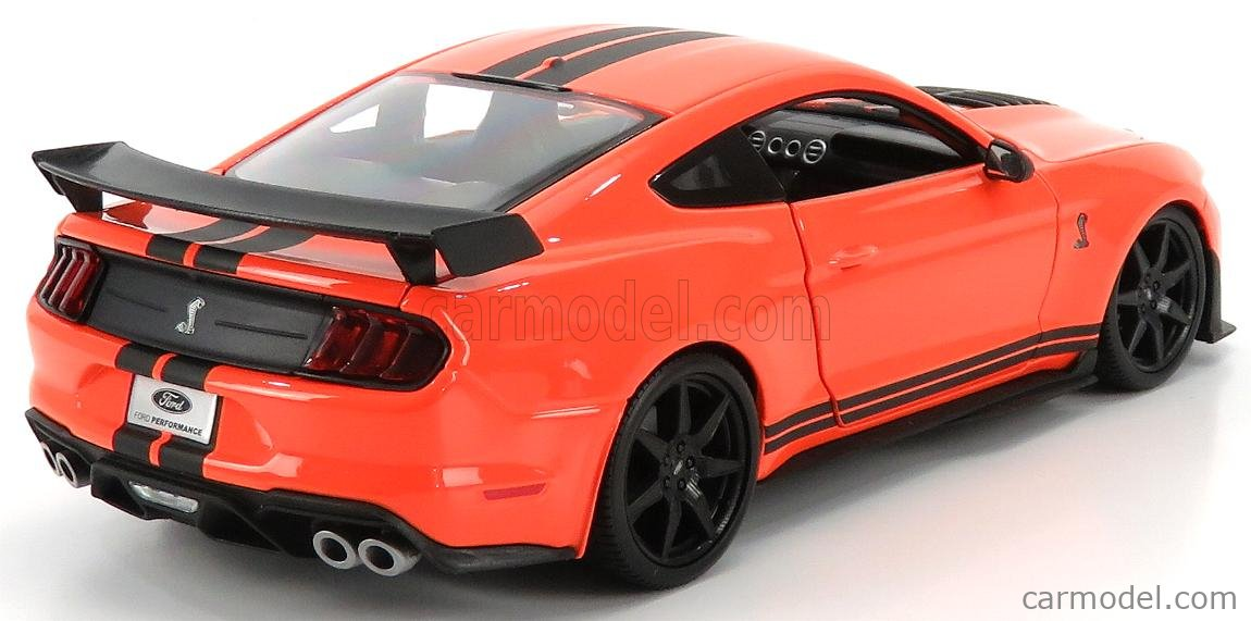 MAISTO 31388OR Scale 1/18  FORD USA MUSTANG SHELBY GT500 COUPE 2020 ORANGE