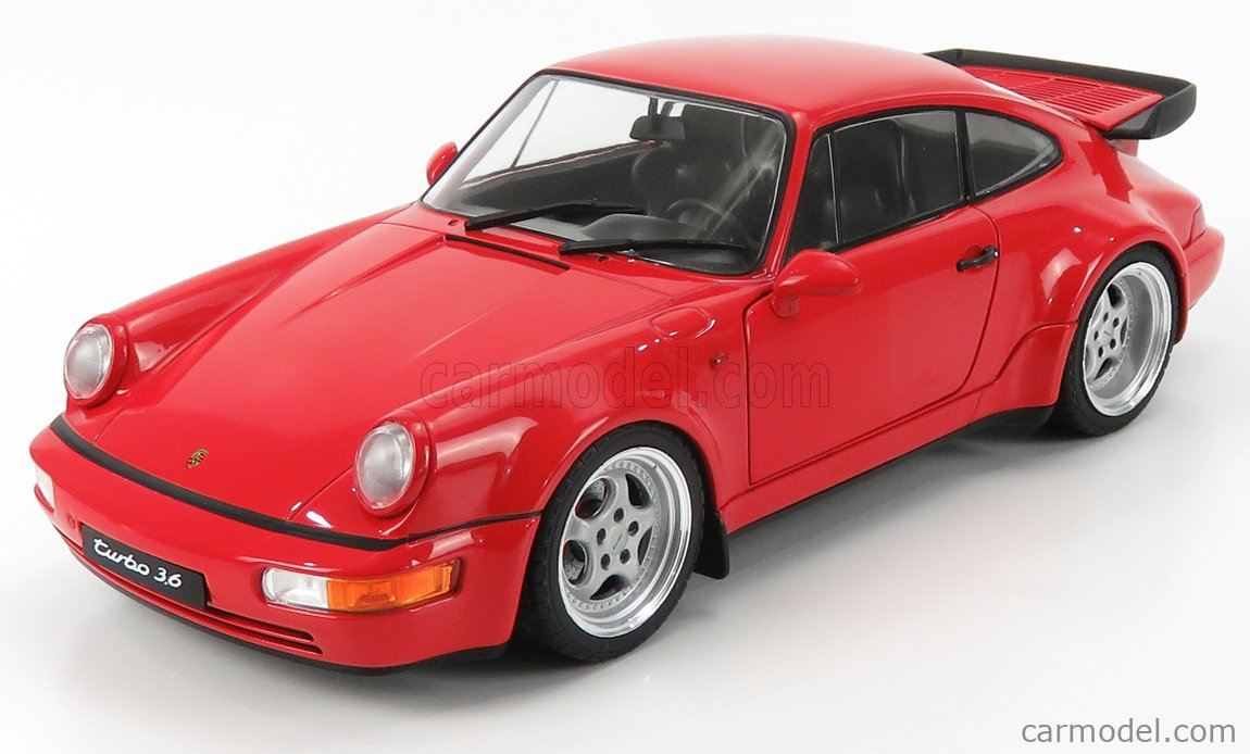 964 TURBO 3.6-1990 1803402 PORSCHE 911 SOLIDO 1//18