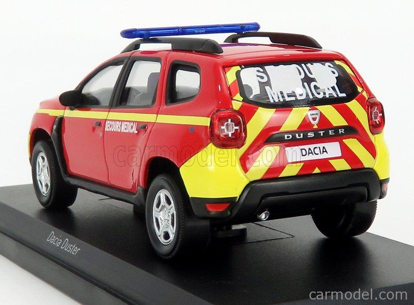 secours Médical de 2018 1//43 de NOREV 509013 Dacia DUSTER Pompiers