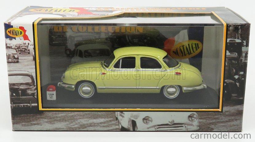 NOSTALGIE NO013 Masstab: 1/43  PANHARD DYNA Z1 LUXE SPECIAL 1954 YELLOW