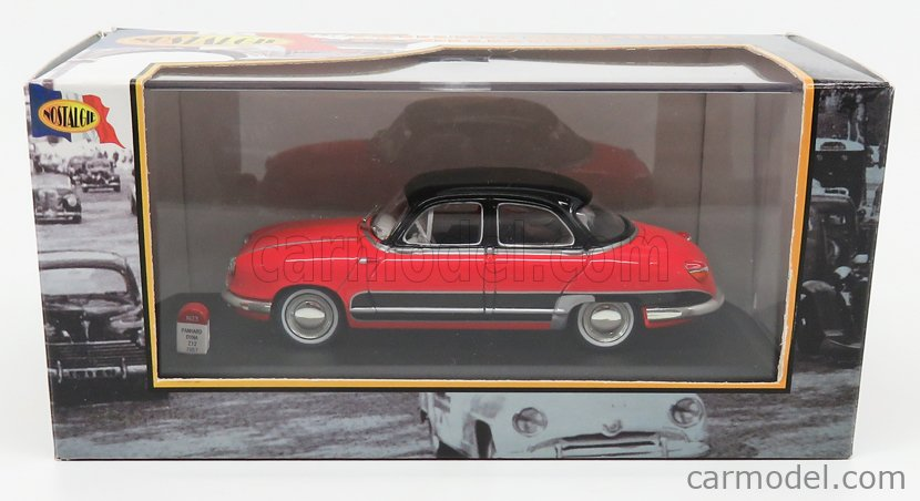 NOSTALGIE NO023 Masstab: 1/43  PANHARD DYNA Z12 GRAND STANDING 1957 RED BLACK