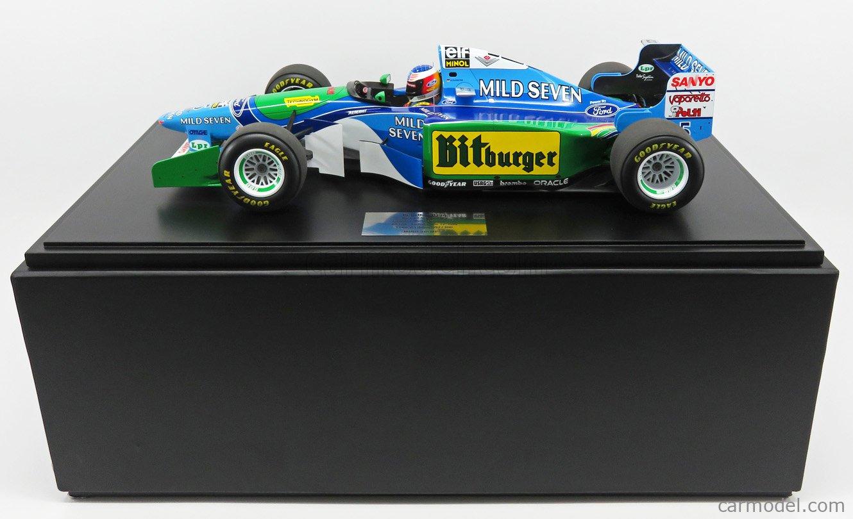 MINICHAMPS 851941605 Masstab: 1/8  BENETTON F1  B194 FORD N 5 MICHAEL SCHUMACHER AUSTRALIAN GP 1994 WORLD CHAMPION BLUE GREEN