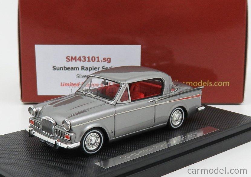 SILAS SM43101SG Scale 1/43  SUNBEAM RAPIER V SERIES 1966 SILVER GREY MET