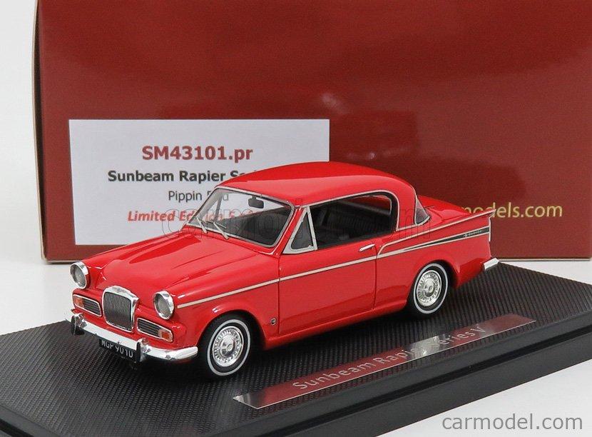 SILAS SM43101PR Scale 1/43  SUNBEAM RAPIER V SERIES 1966 PIPPIN RED