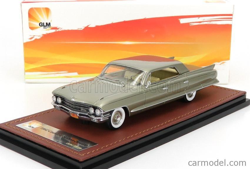 GLM-MODELS GLM119302 Masstab: 1/43  CADILLAC SEDAN DEVILLE 4 WINDOWS 1962 VICTORIAN GOLD MET