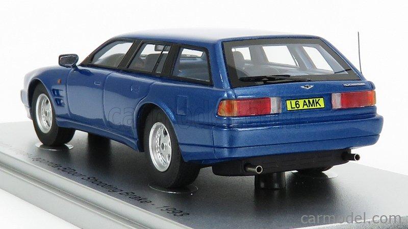 KESS-MODEL KE43047030 Масштаб 1/43  ASTON MARTIN VIRAGE LAGONDA SHOOTING BRAKE 1993 BLUE MET