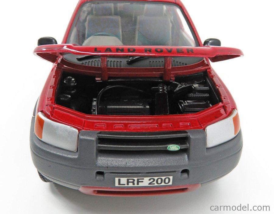 ERTL 07885 Echelle 1/18  LAND ROVER FREELANDER MKI 1998 RED MET