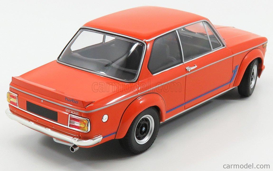 Minichamps 155026202 Scale 1 18 Bmw 2002 Tii Turbo 1973 Orange