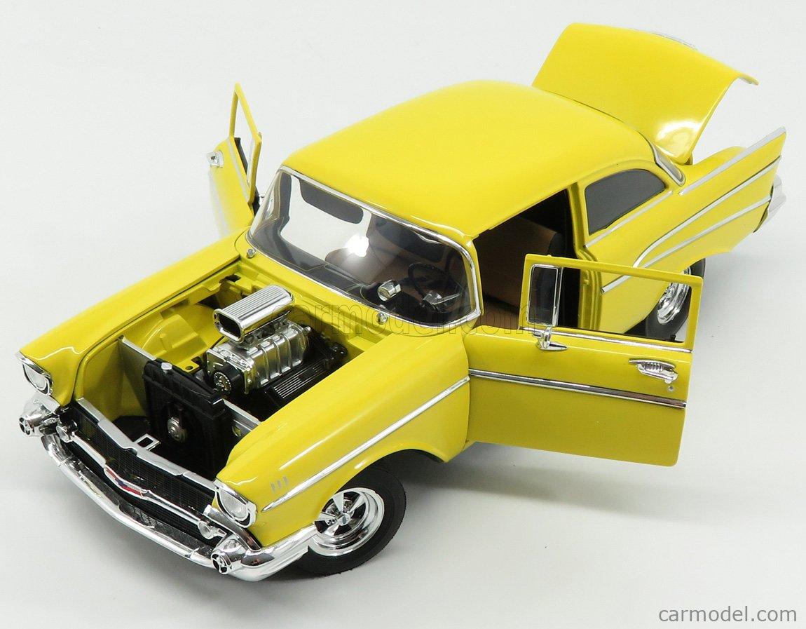 1//18 ACME-MODELS BEL AIR CUSTOM 1957-210 TRIBUTE A1807006 CHEVROLET