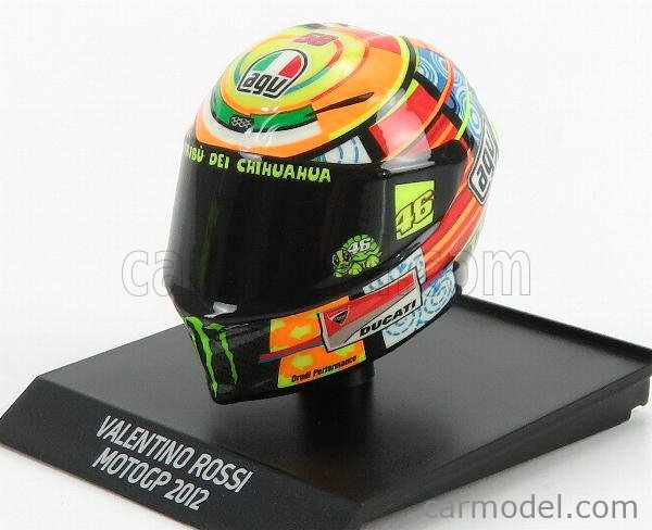 Rossi MotoGP 2012-1:10 Minichamps Helmets V
