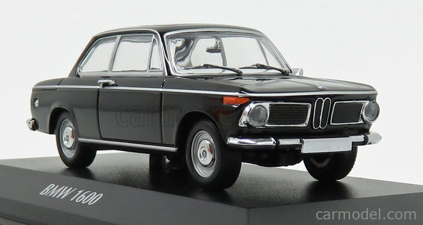 BLACK 940022101 MAXICHAMPS 1:43 New in a box BMW 1600-1968