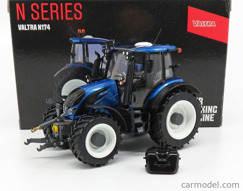 ROS-MODEL V42801930 Scale 1/32  VALTRA N174 TRACTOR 2017 BLUE MET BLACK