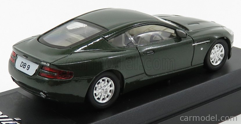 SOLIDO 15100 Масштаб 1/43  ASTON MARTIN DB9 COUPE 2004 GREEN MET