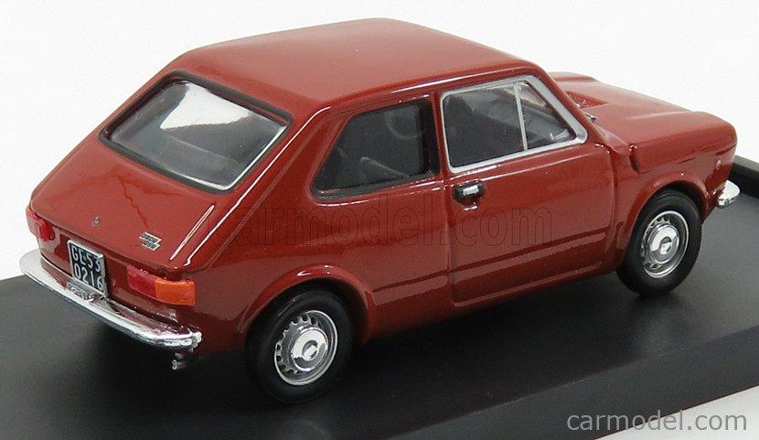BRUMM R500-09 Echelle 1/43  FIAT 127 1 SERIES 3-DOOR 1972 ROSSO SIERRA - RED