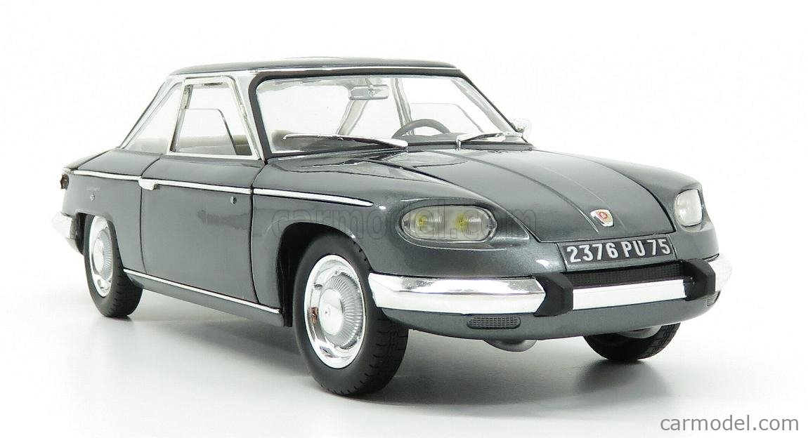 NOREV 184502 Scala 1/18  PANHARD 24CT COUPE 1964 GREY MET