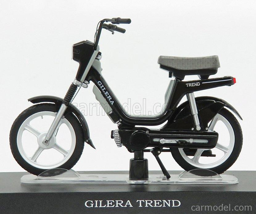 Gilera Trend Black EDICOLA 1:18 AHMSM046 Modellbau