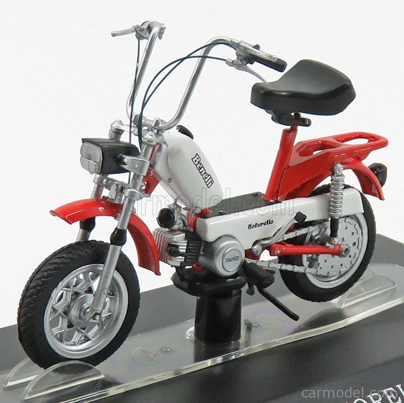 EDICOLA AHMSM045 Масштаб 1/18  BENELLI MOTORELLA RED WHITE