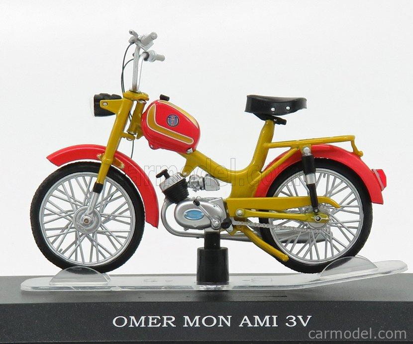 EDICOLA AHMSM035 Scala 1/18  OMER MON AMI 3V RED GOLD