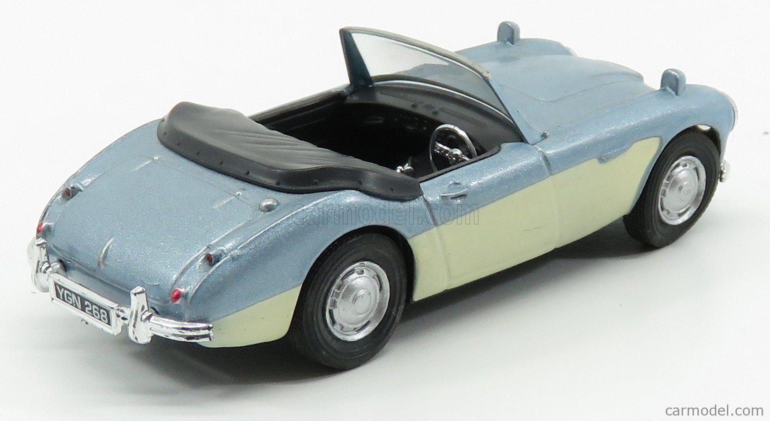 HONGWELL 16240 Echelle 1/43  AUSTIN HEALEY 3000 MKIII SPIDER OPEN 1964 LIGHT BLUE CREAM