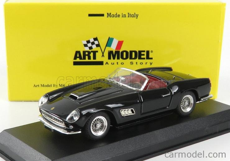 ART-MODEL ART418 Scale 1/43  FERRARI 250 CALIFORNIA LWB SPIDER 1957 BLACK
