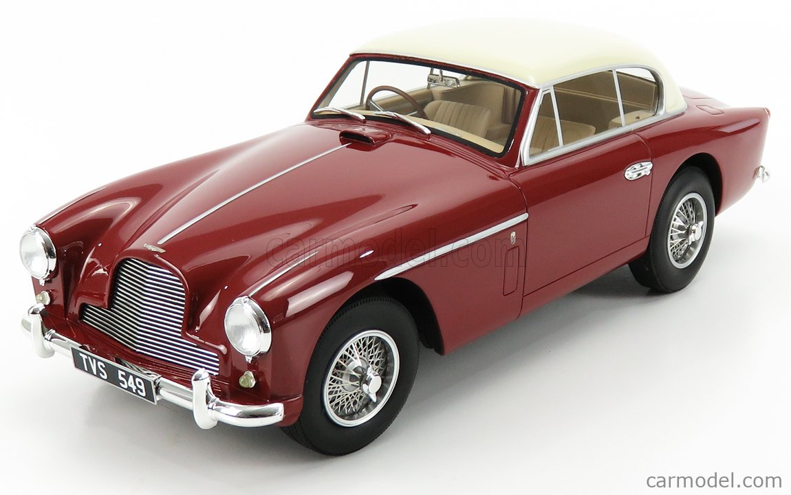 CULT-SCALE MODELS CML096-2 Масштаб 1/18  ASTON MARTIN DB2-4 MKII FHC NOTCHBACK 1955 RED BEIGE