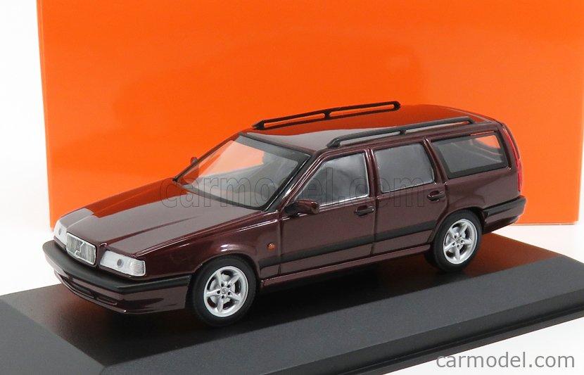 MINICHAMPS 940171510 Scale 1/43  VOLVO 850 BREAK 1994 BORDEAUX MET