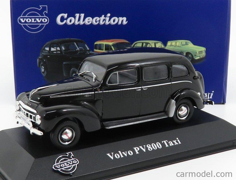 1:43 Atlas Volvo Collection Volvo PV 800 Taxi black