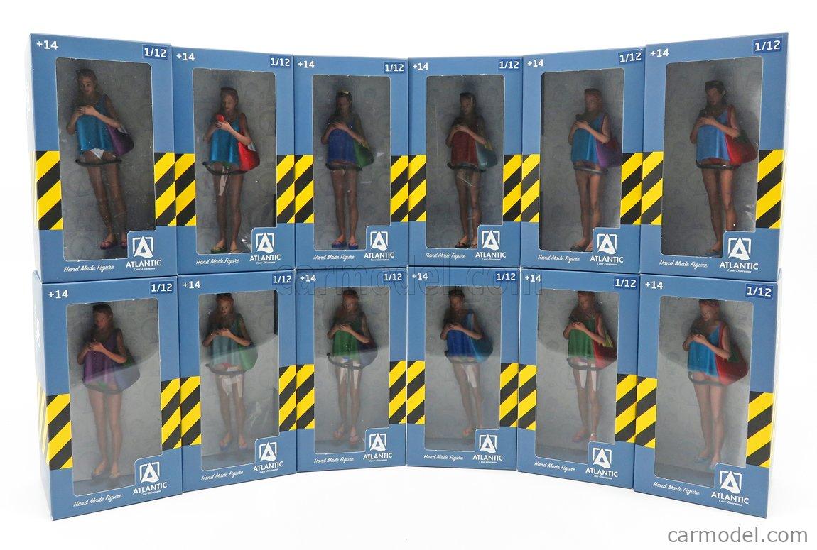 ATLANTIC ATL12003 Scale 1/12  FIGURES WOMAN - DIANA 3 VARIOUS