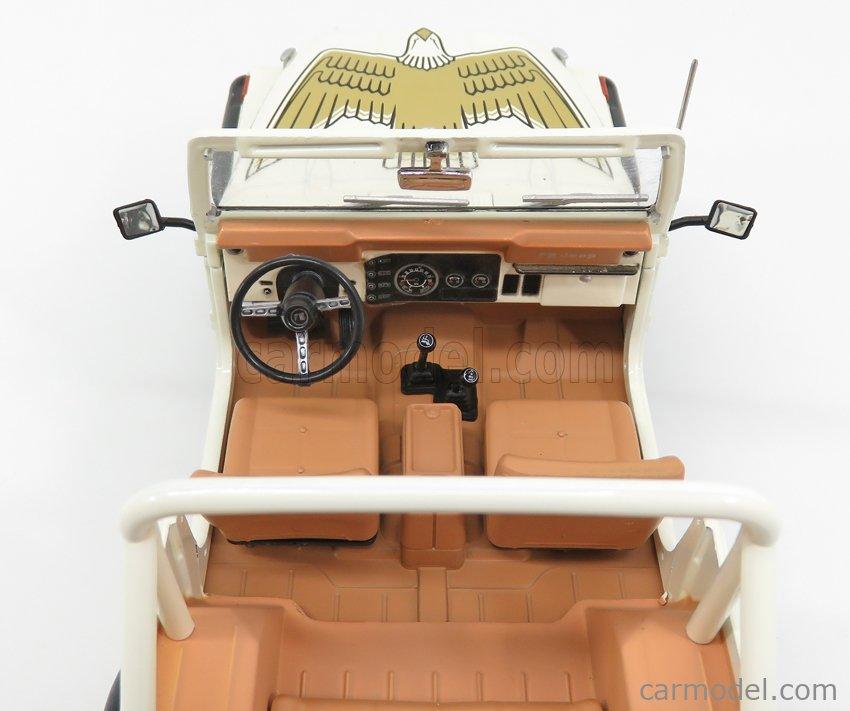 GREENLIGHT 19065 Masstab: 1/18  JEEP CJ-7 DIXIE OPEN 1979 - LOOK-A-LIKE DIXIE - THE DUKES OF HAZZARD WHITE