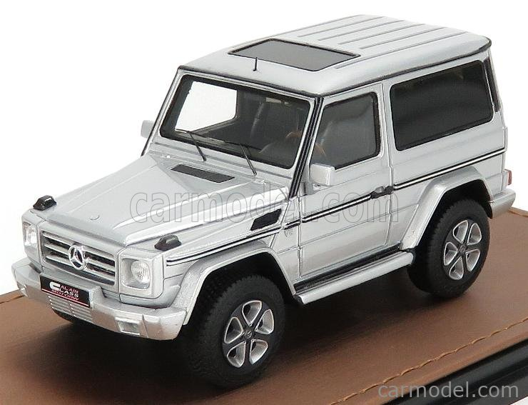 GLM-MODELS GLM206903 Масштаб 1/43  MERCEDES BENZ G-CLASS G500 BA3 FINAL EDITION 2012 NEVADA SILVER