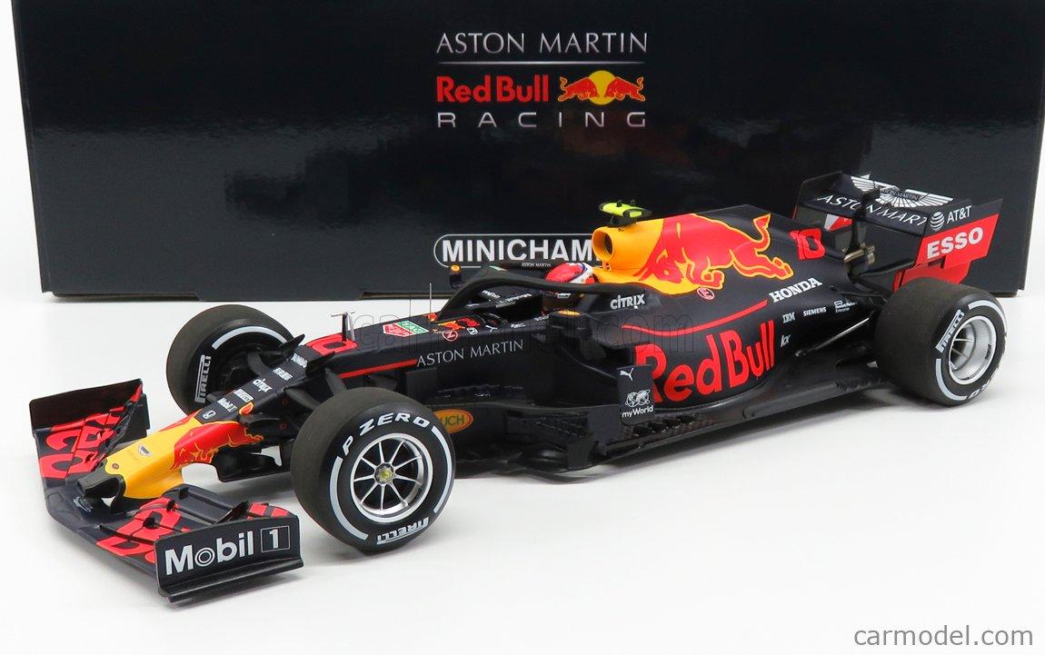 MINICHAMPS 110190910 Масштаб 1/18  RED BULL F1  RB15 TEAM ASTON MARTIN N 10 AUSTRIAN GP 2019 P.GASLY MATT BLUE YELLOW