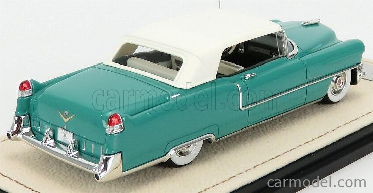 STAMP-MODELS STM55304 Masstab: 1/43  CADILLAC SERIES 62 CABRIOLET CLOSED 1955 GELADON GREEN