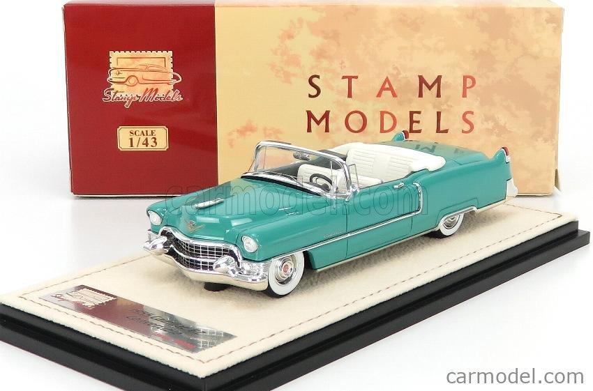 STAMP-MODELS STM55303 Escala 1/43  CADILLAC SERIES 62 CABRIOLET OPEN 1955 GELADON GREEN