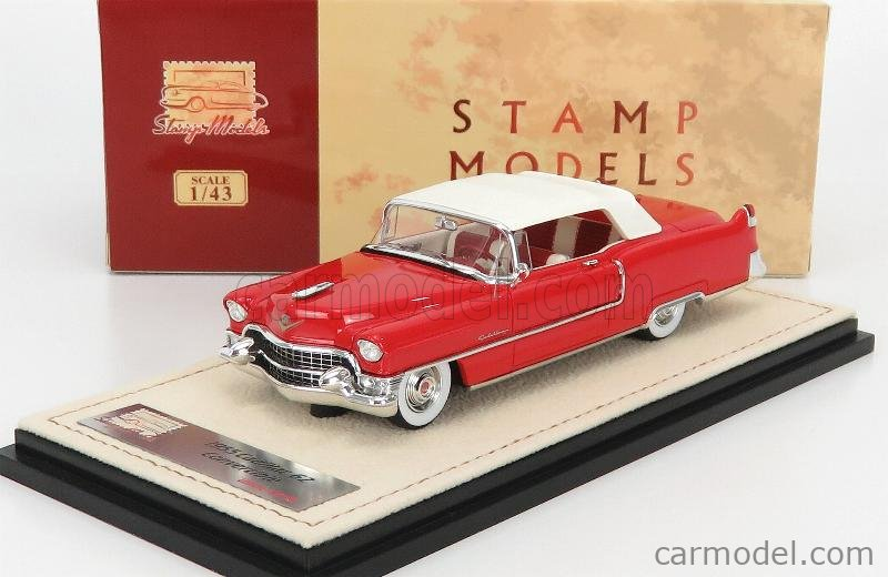 STAMP-MODELS STM55302 Masstab: 1/43  CADILLAC SERIES 62 CABRIOLET CLOSED 1955 DAKOTA RED