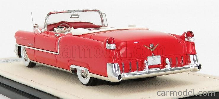 STAMP-MODELS STM55301 Масштаб 1/43  CADILLAC SERIES 62 CABRIOLET OPEN 1955 DAKOTA RED