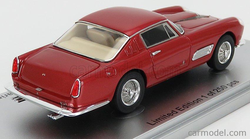 KESS-MODEL KE43056130 Scale 1/43  FERRARI 410 SUPERAMERICA SERIES III PININFARINA COUPE 1958 RED MET