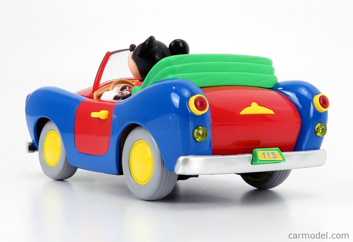 BURAGO 2602 Scale 1/18  WALT DISNEY AUTO 113 DI TOPOLINO - MICKEY CAR BLUE RED