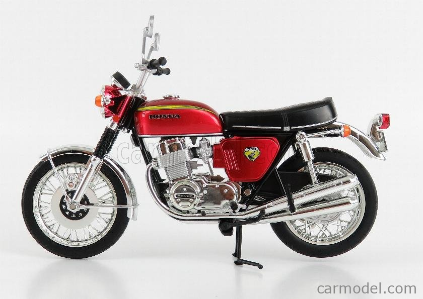 LCD-MODEL LCD12002RE Scale 1/12  HONDA CB750 FOUR 1970 RED