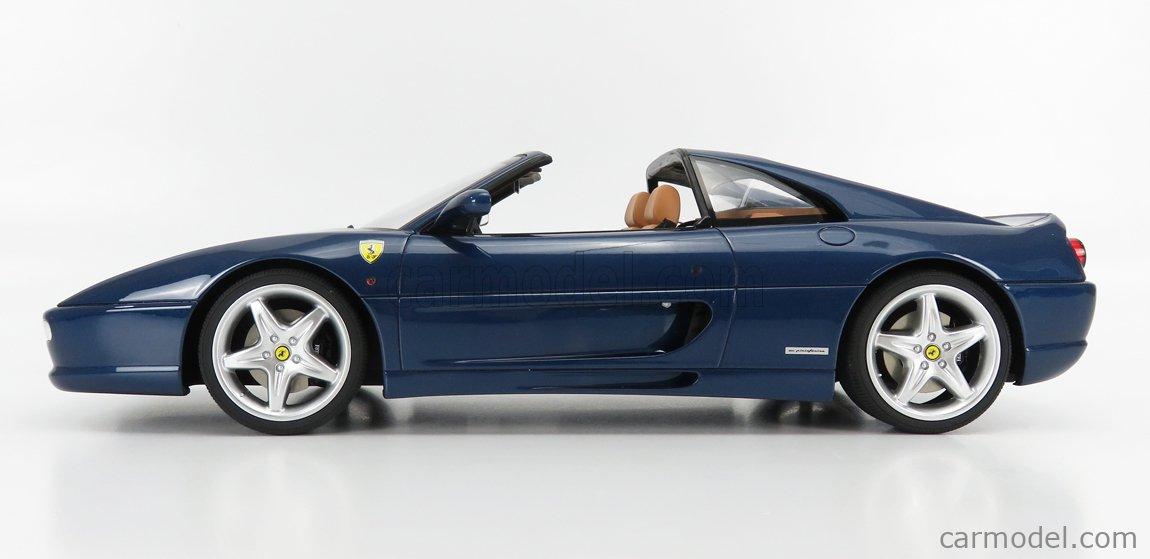 Ferrari F355 GTS 1995 Blue 1//12 GT833 GT SPIRIT