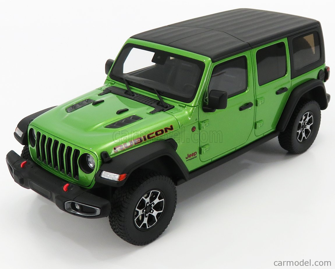 GT-SPIRIT GT278 Masstab: 1/18  JEEP WRANGLER RUBICON 2019 GREEN BLACK