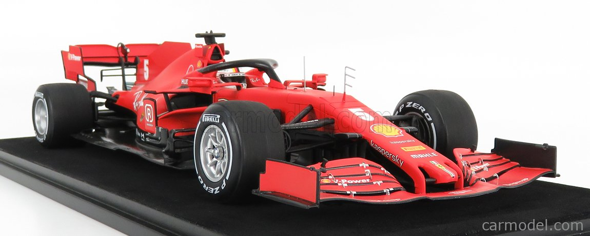 LOOKSMART LS18F1030 Echelle 1/18  FERRARI F1  SF1000 TEAM SCUDERIA FERRARI MISSION WINNOW N 5 10th AUSTRIAN GP 2020 SEBASTIAN VETTEL MATT RED